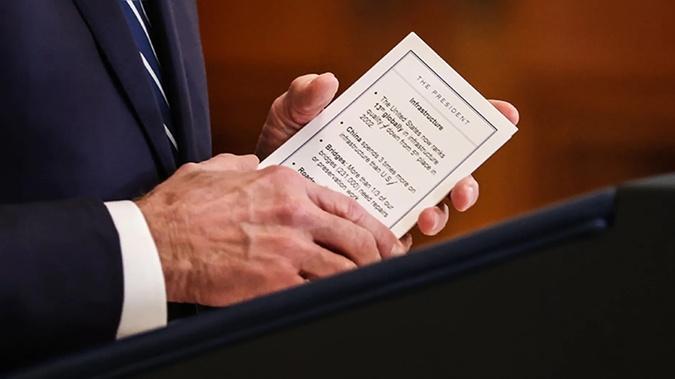 Джо Байден на пресс-конференции