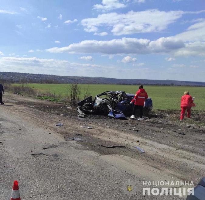 Авария такси и грузовика Николаевская область