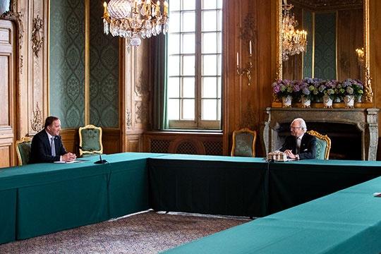 Король и премьер-министр Швеции