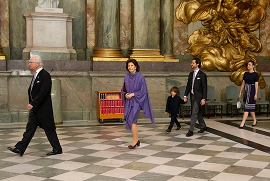 Король Швеции, Карл Филипп, принц Александр, Лина Хеллквист