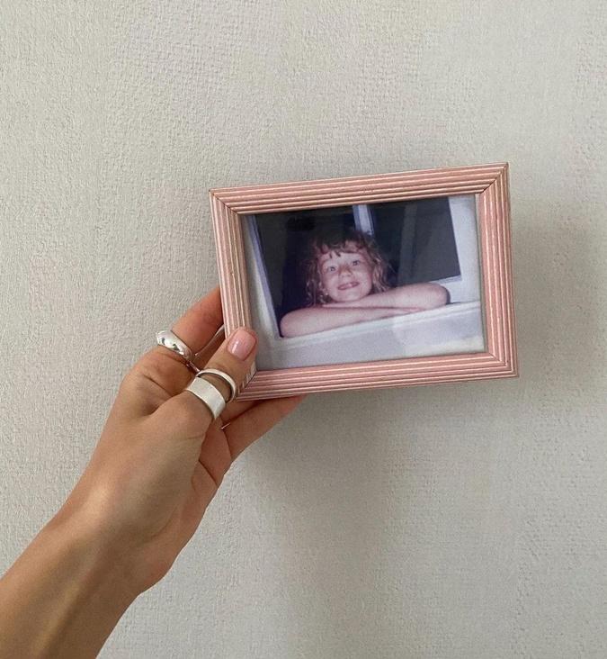 Ульяна Синецкая в детстве