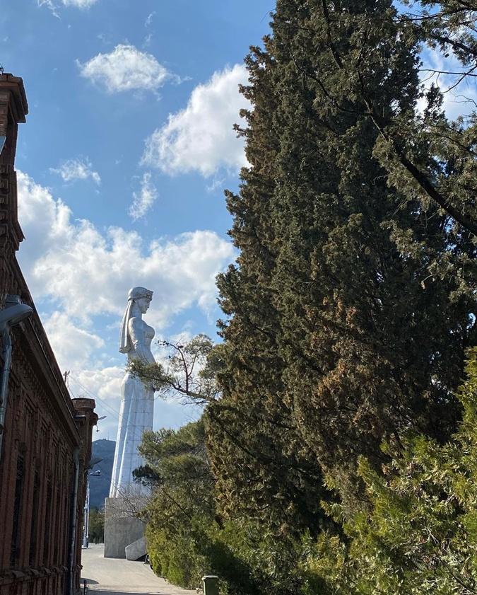 Таран улицы Тбилиси