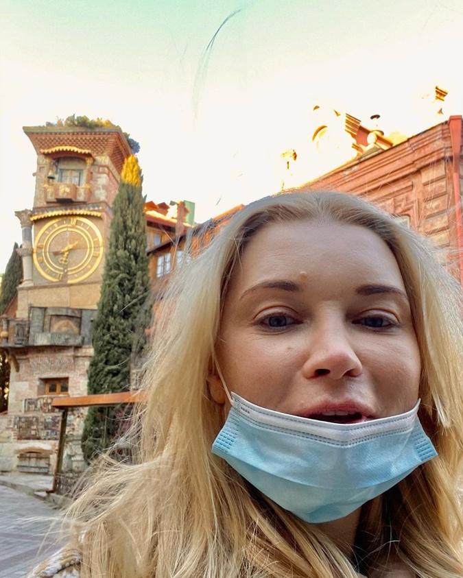 Лидия Таран в Тбилиси