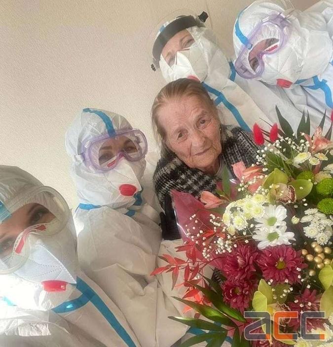 100-летняя пациента выздоровела от коронавируса