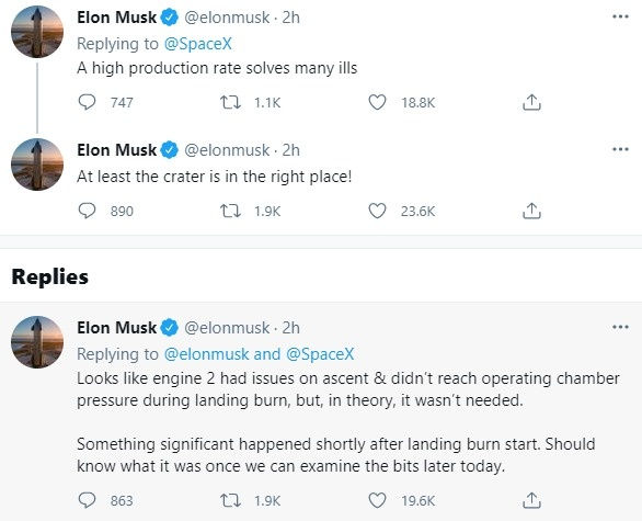 скриншот твита twitter.com/elonmusk