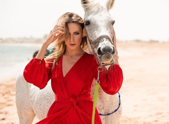 Леся Никитюк, лошадь