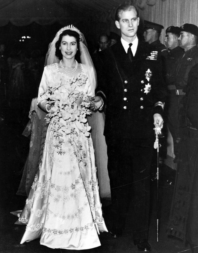 Свадьба Елизаветы и Филиппа.
