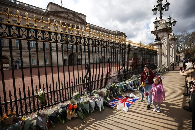 Великобритания траур