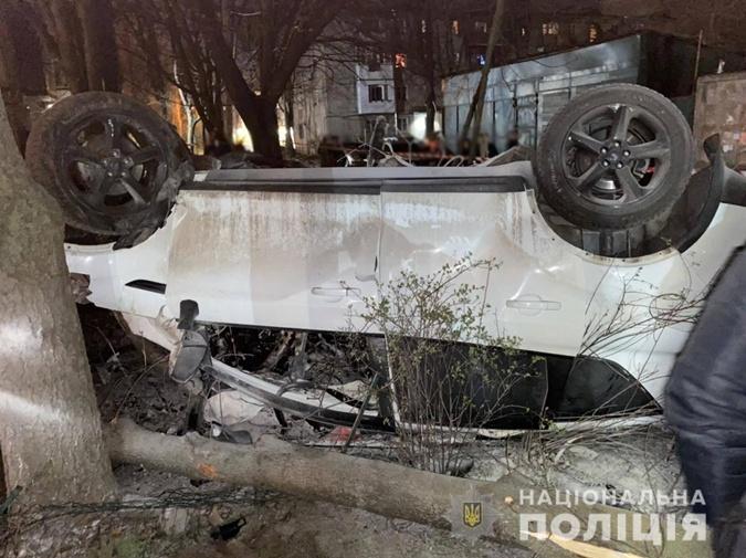 Авария в Одессе 14 апреля