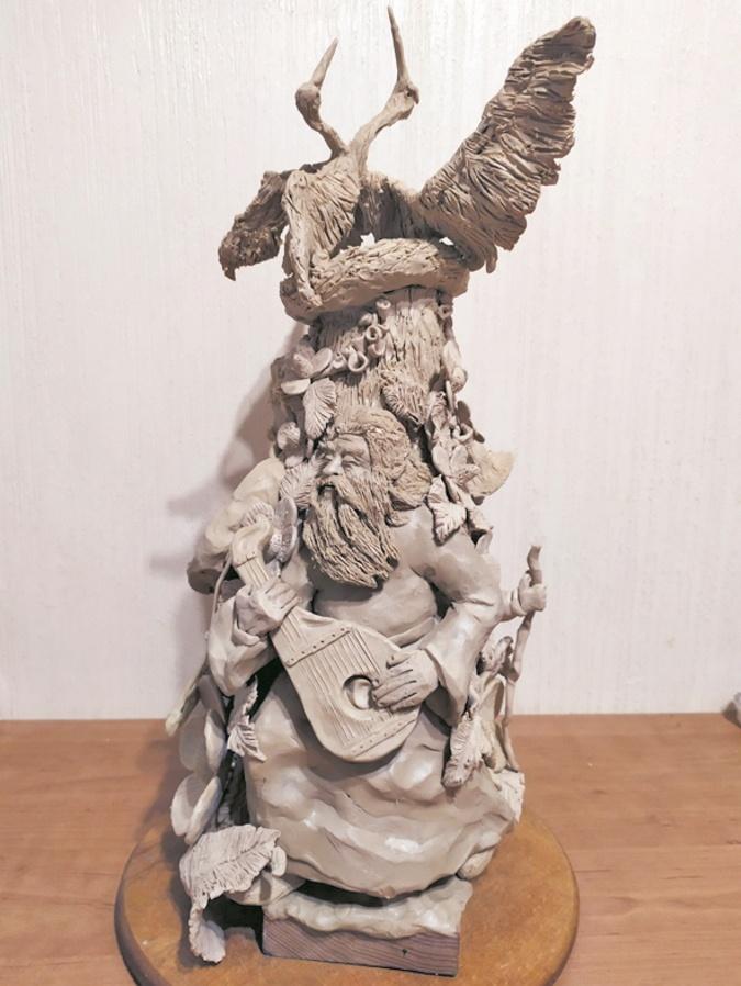 скульптура из пластилина