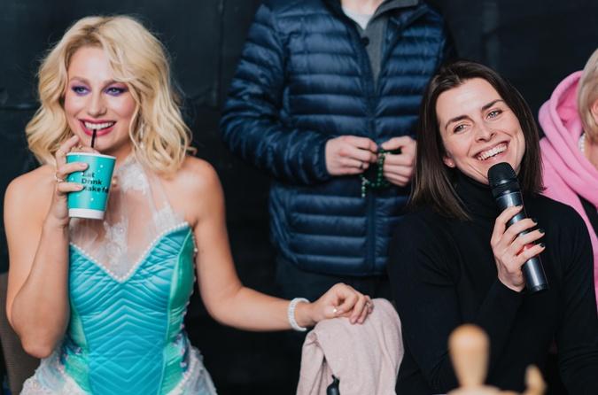 Наталья Гординеко и Катя Царик