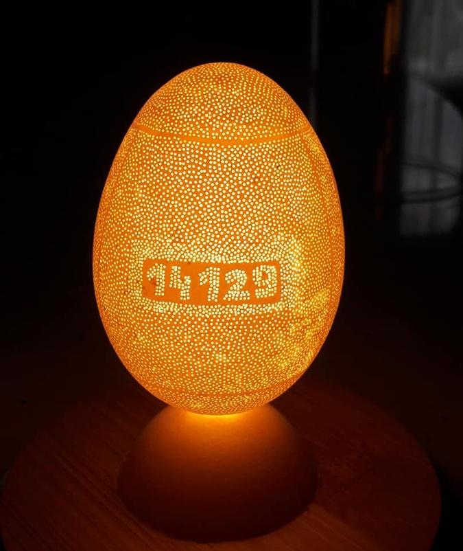 яйцо с дырочками