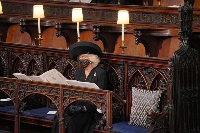 Герцогиня Камилла в шляпе