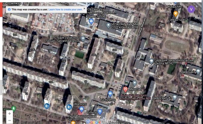 карта бомбоубежищ