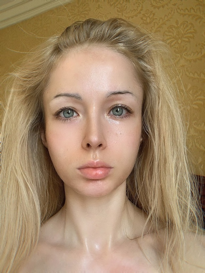 валерия лукьянова без макияжа