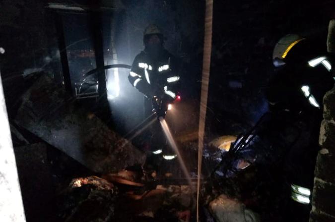 Пожар общежитие Павлоград