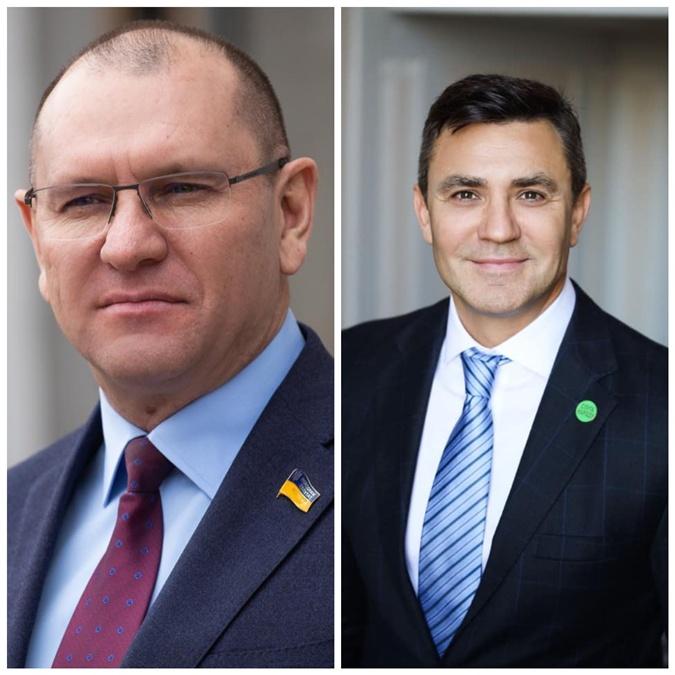 Евгений Шевченко и Николай Тищенко