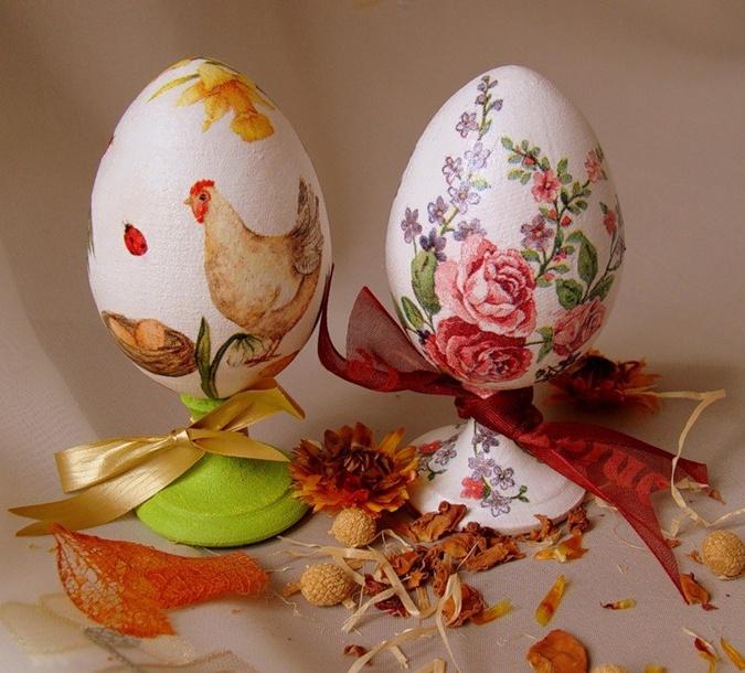 декупаж для яиц
