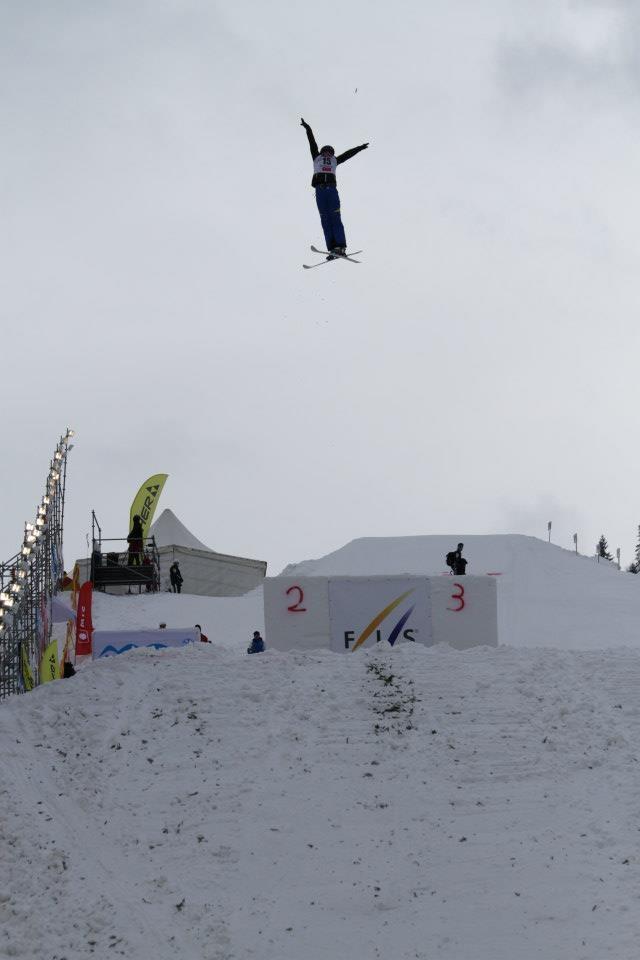 Фристайлистка Ольга Полюк: Взлетаю на высоту до 15 метров - и там время замедляется