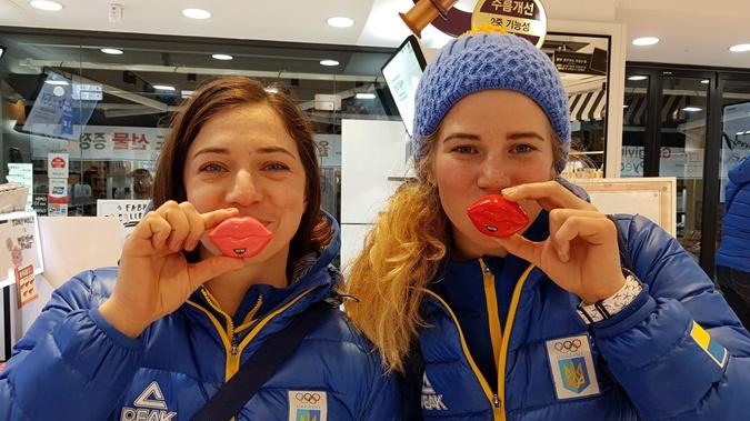 украиснкие спортсменки
