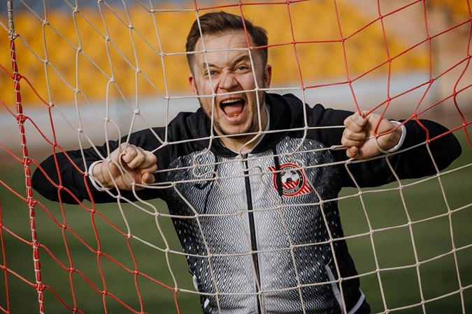 Артем Гагарин – фанат футбола. Фото: Инстаграм Гагарина