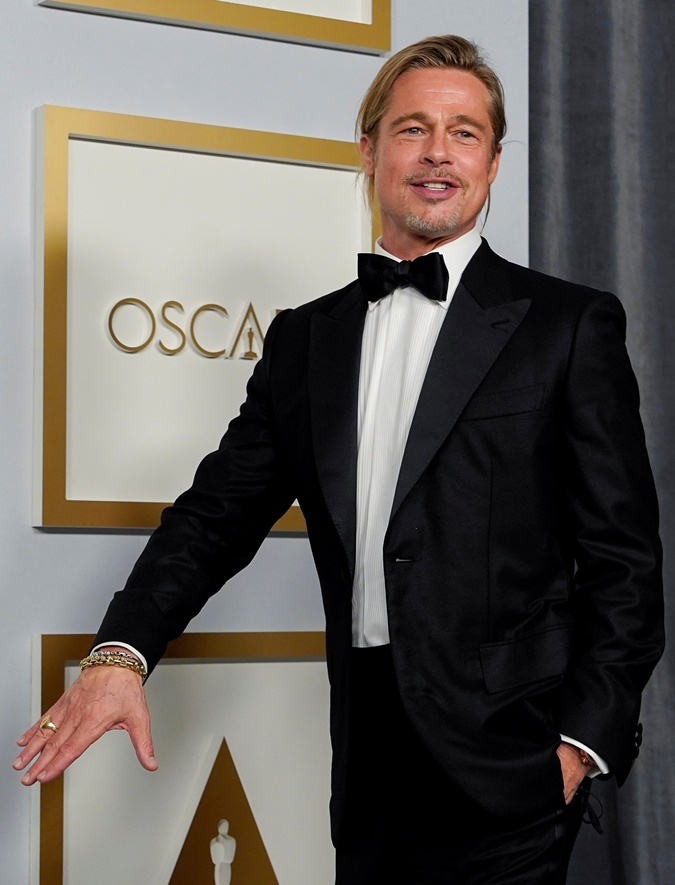 Питт на Оскаре