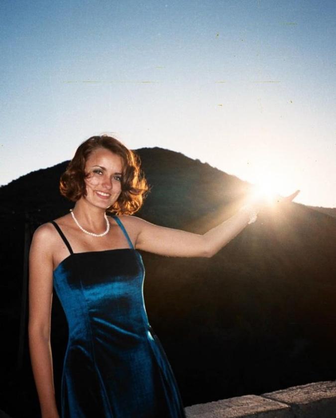 архивное фото Лизы Глинской