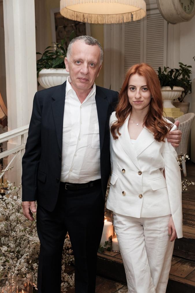 Савелий Либкин с женой