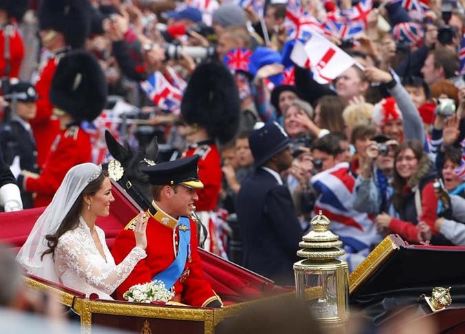 10лет со свадьбы Кейт Миддлтон и принца Уильяма