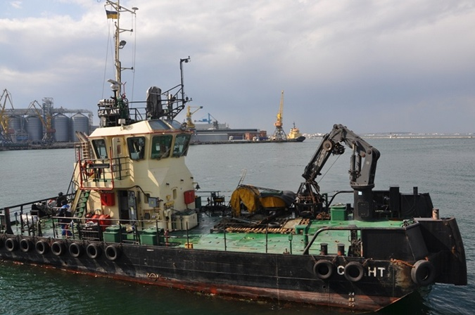 останки танкера делфи