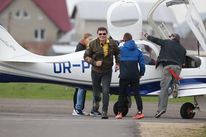 Дмитрий Комаров полет