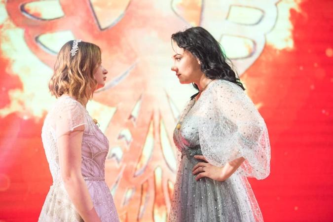 Финалистки проекта - Валерия Ткаченко и Ирина Бакулина. Фото: пресс-служба