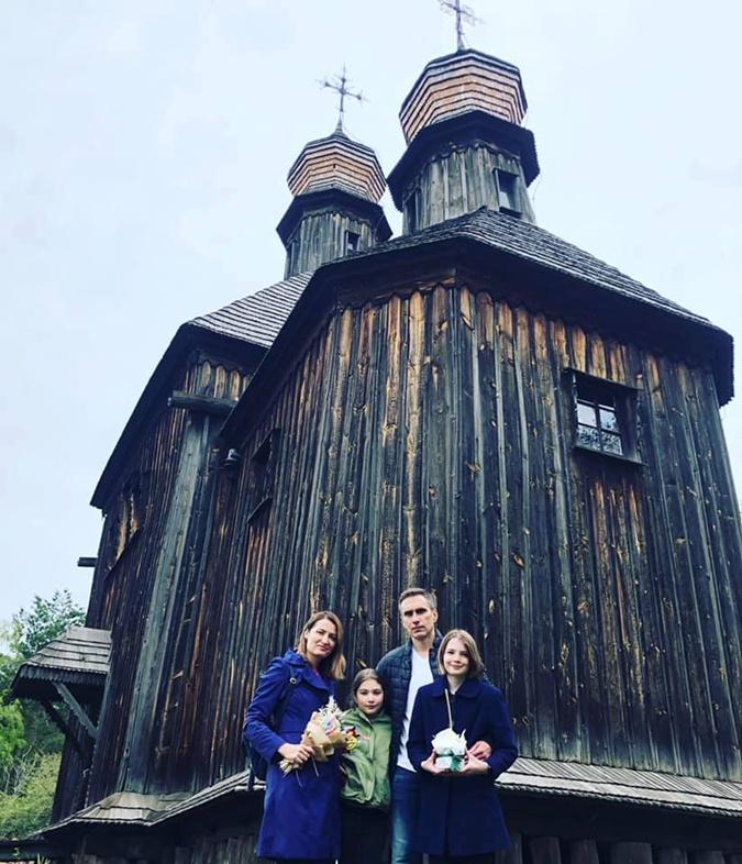 Ольга Стефанишина муж дети