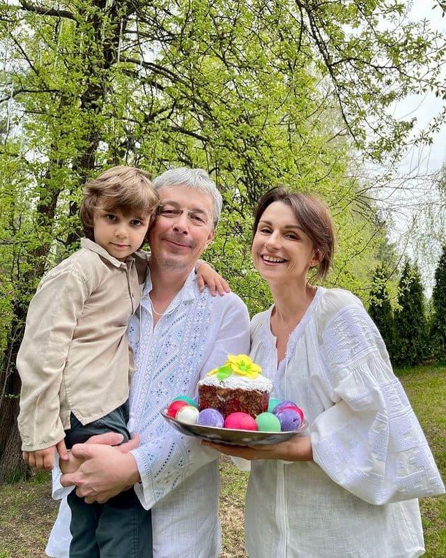 Александр Ткаченко жена