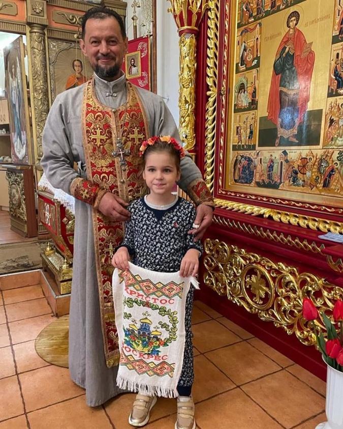 Таня Скичко, священник