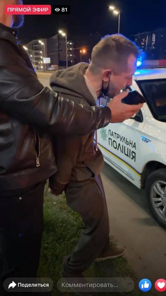 Майман задержание в Киеве