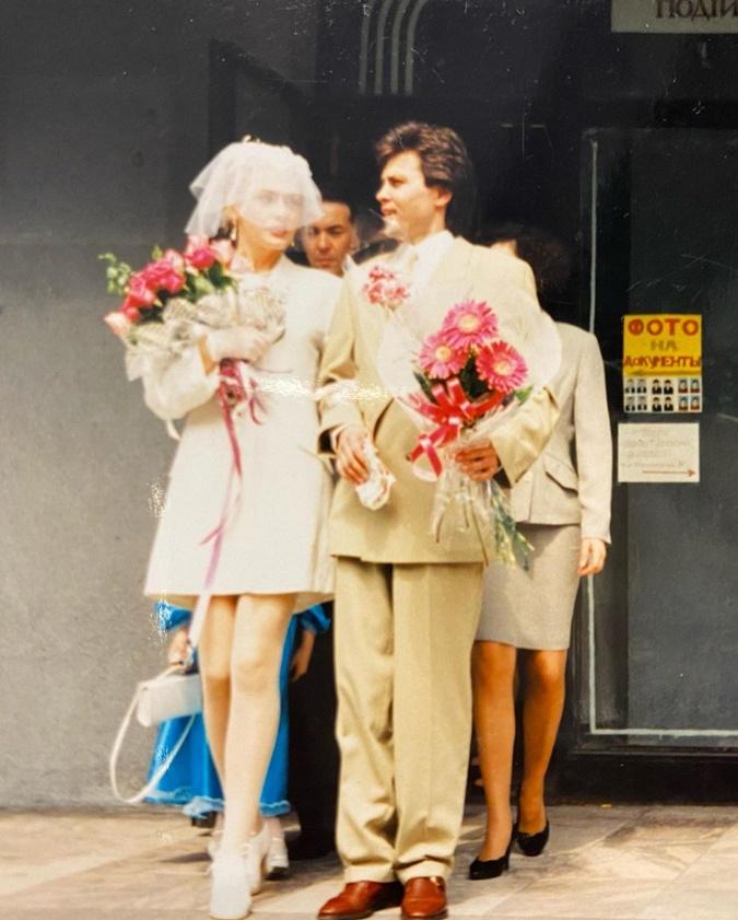 Сумская и Борисюк на свадьбе