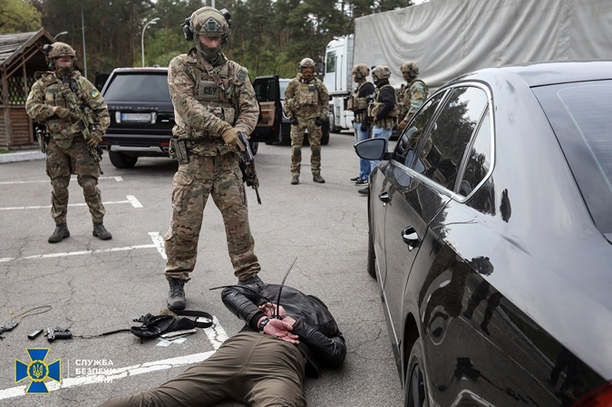 Рэкет в Киеве и Чернигове