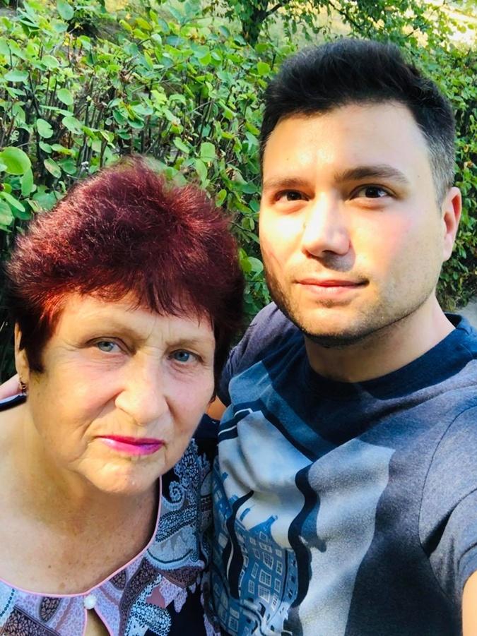 игорь пупков с мамой