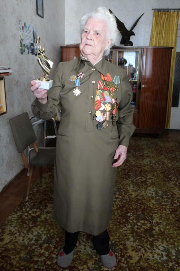ветеран Полина Хальзова