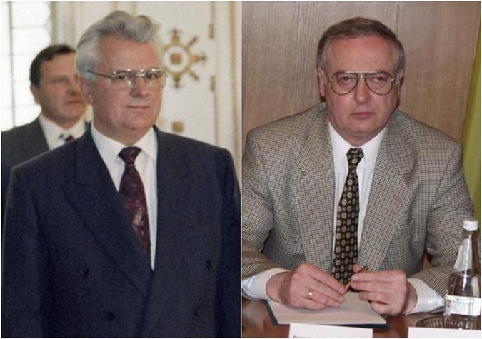 Леонид Кравчук и Владимир Шляпошников. Фото: Википедия/photo.ua