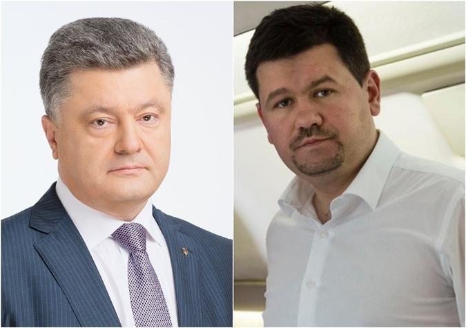 Петр Порошенко и Святослав Цеголко, который до сих пор остается в команде бывшего президента.