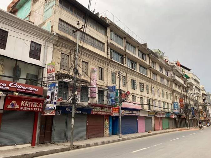 магазины в Непале