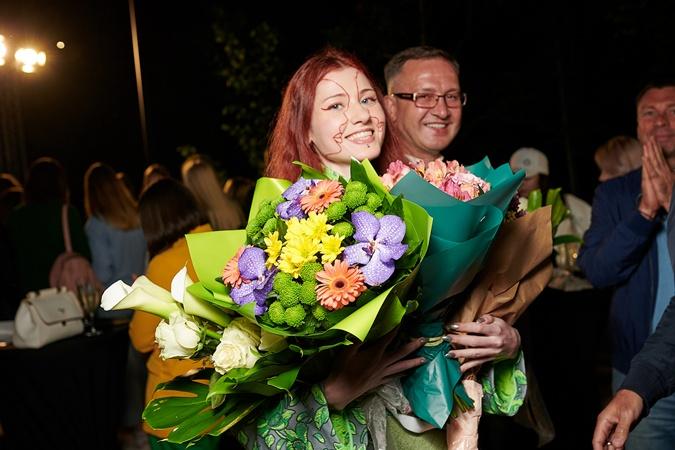 Ксения Уманская с отцом экс-министром финансов Украины. Фото: пресс-служба