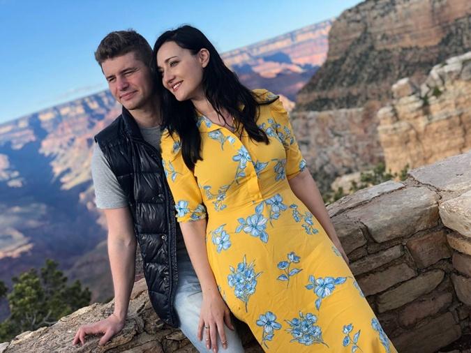 Витвицкая с мужем
