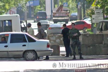 блокпосты в Донецке