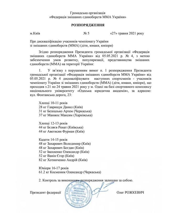 Беринчик заявил о коррупции в Федерации ММА: Не по-пацански!