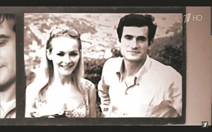 Барбара Брыльска с мужем