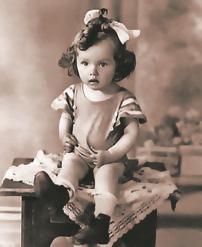 маленькая Барбара Брыльска