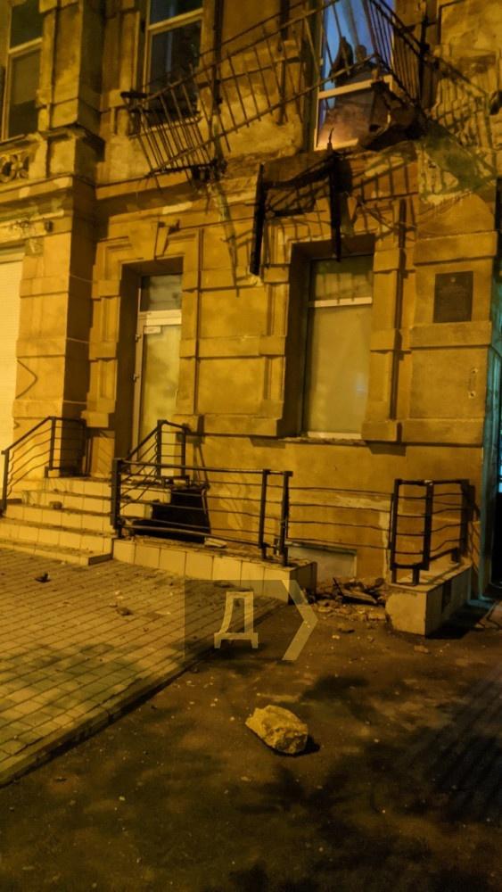 Одесса обрушился балкон